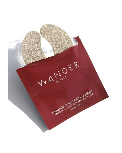 Wander Beauty - Baggage Claim Eye Mask (1 pair)