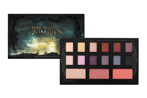Bh Cosmetics - Pride + Prejudice + Zombies Eye and Cheek Palette (Limited Edition) **New**