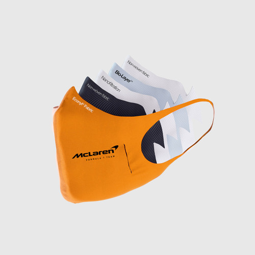 McLaren -We Race As One Team U-Mask® Face Mask (One Size)
