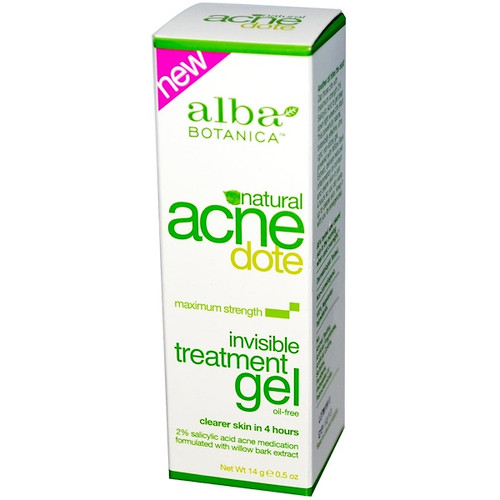 Alba Botanica - Acne Dote - Invisible Treatment Gel - Oil-Free (14 g)
