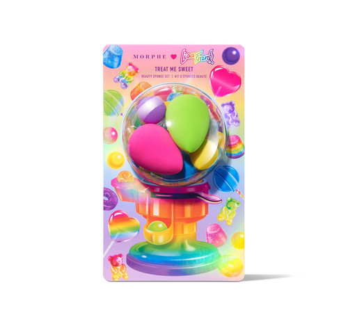 Morphe Brushes - Lisa Frank - Treat Me Sweet Beauty Sponge Set (LE)