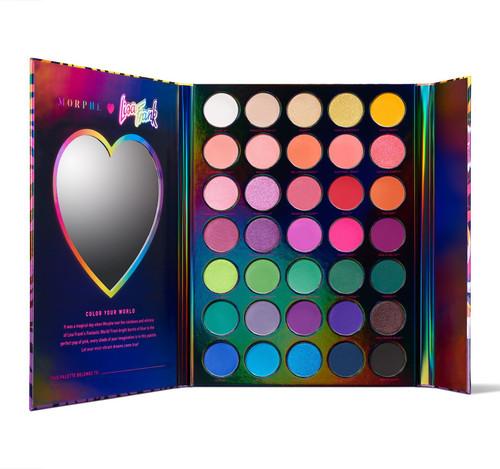 Morphe Brushes - Lisa Frank - 35B Artistry Eyeshadow Palette (LE)
