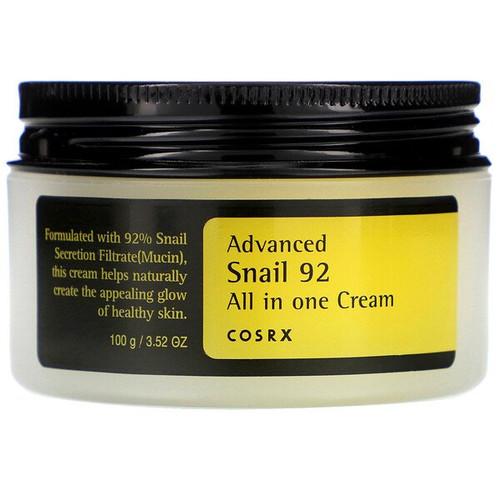 Cosrx - Advanced Snail 92, All in One Cream (100 ml)