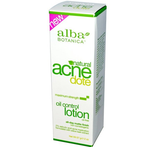 Alba Botanica - Acne Dote, Oil Control Lotion, Oil-Free (57 g)