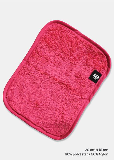 Aoa Studio - Microfiber Washcloth Towel - Pink
