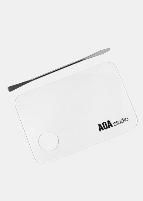 Aoa Studio - Paw Paw Acrylic Mixing Palette and Spatula