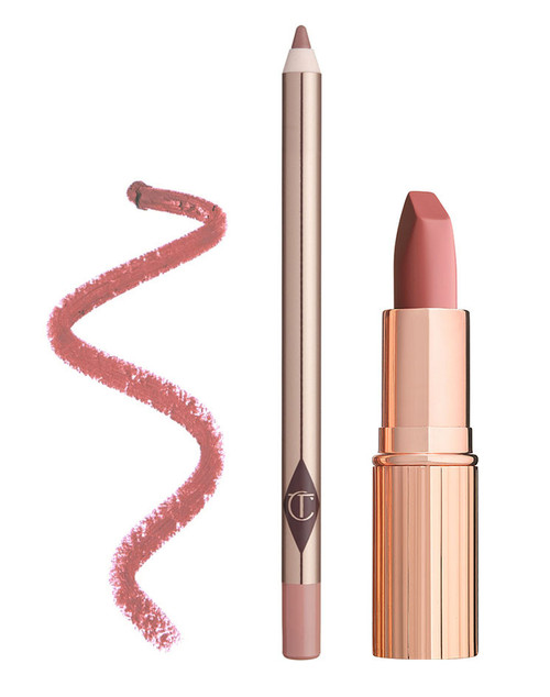 Charlotte Tilbury - Luscious Lip Slick in Pillow Talk Duo Set (LE)