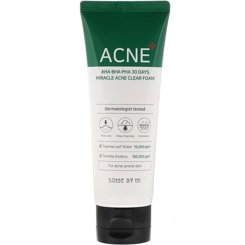 Some By Mi - AHA, BHA, PHA 30 Days Miracle Acne Clear Foam (100 ml)