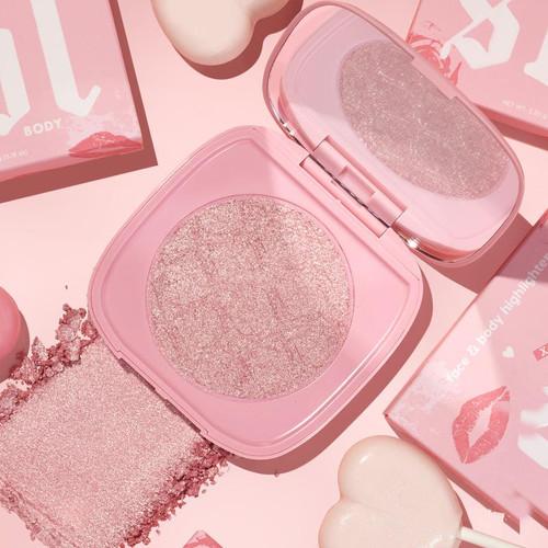 Colourpop - Sol Shimmering Body Powder Mini - Pink Truffle (LE)
