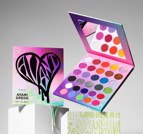 Morphe Brushes - Avani Gregg Collection - For The Bebs Artistry Palette (LE)
