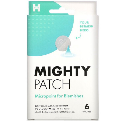 Hero Cosmetics - Mighty Patch Micropoint for Blemishes - 6 Patches