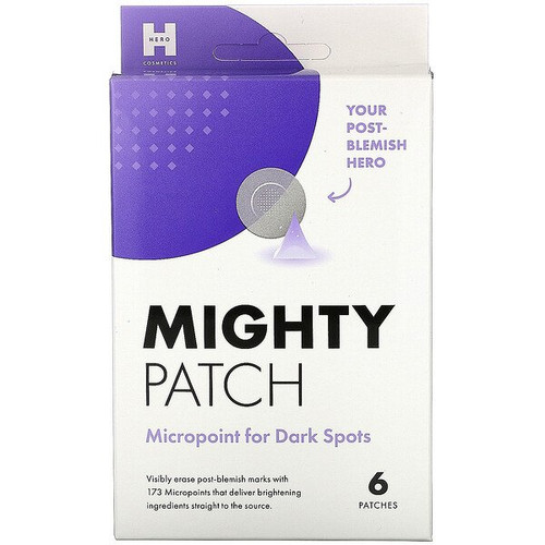 Hero Cosmetics - Mighty Patch Micropoint for Dark Spots - 6 Patches