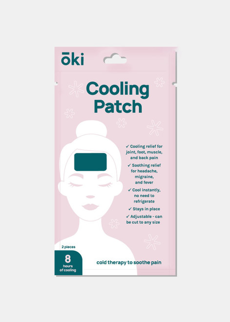 Oki - Official Key Items Cooling Gel Patch (One Patch)