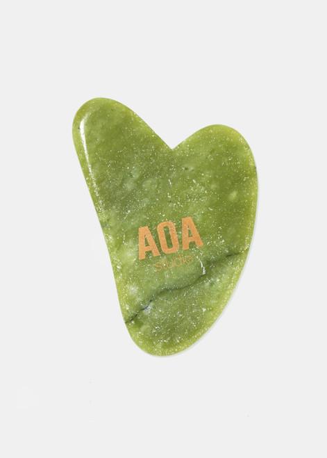 Aoa Studio - Jade Stone Gua Sha Tool