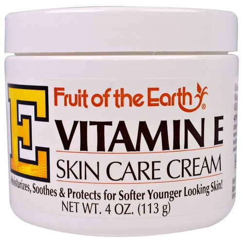 Fruit of the Earth - Vitamin E Skin Cream - 4oz