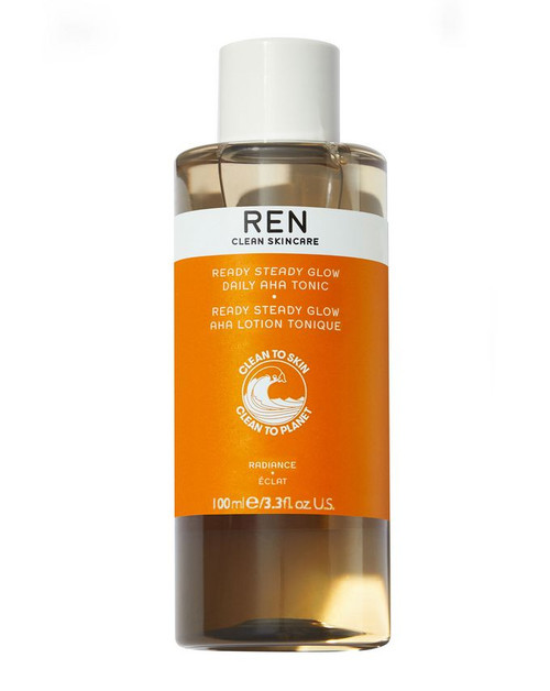 Ren Clean Skincare - Ready Steady Glow Daily AHA Tonic (100ml)