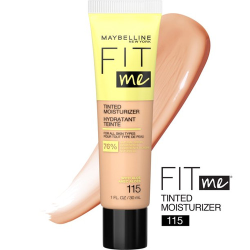 Maybelline - Fit Me Tinted Moisturizer With Aloe