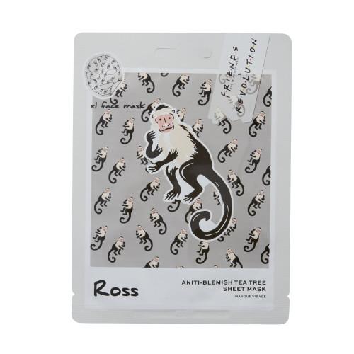 Makeup Revolution London - Friends - Ross Tea Tree Sheet Mask