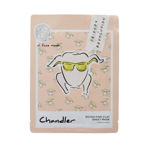 Makeup Revolution London - Friends - Chandler Pink Clay Sheet Mask