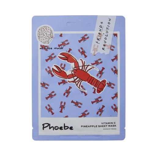 Makeup Revolution London - Friends - Phoebe Pineapple Sheet Mask