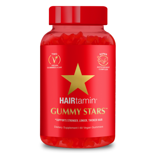 HAIRtamin - Gummy Stars (60 Vegan Gummies)