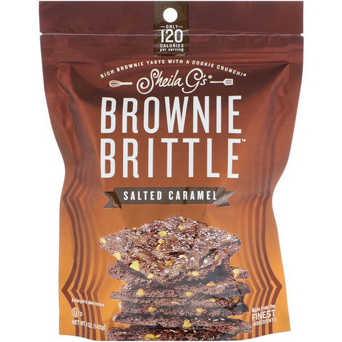 Sheila G's - Brownie Brittle - Salted Caramel - 5 oz (142 g)