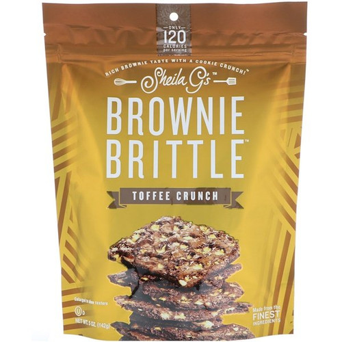 Sheila G's - Brownie Brittle - Toffee Crunch - 5 oz (142 g)