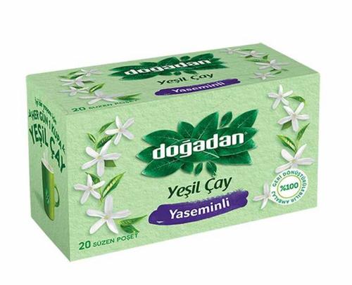 Dogadan - Yesil Çay Yaseminli ( Jasmine Green Tea) - 20 Tea Bags