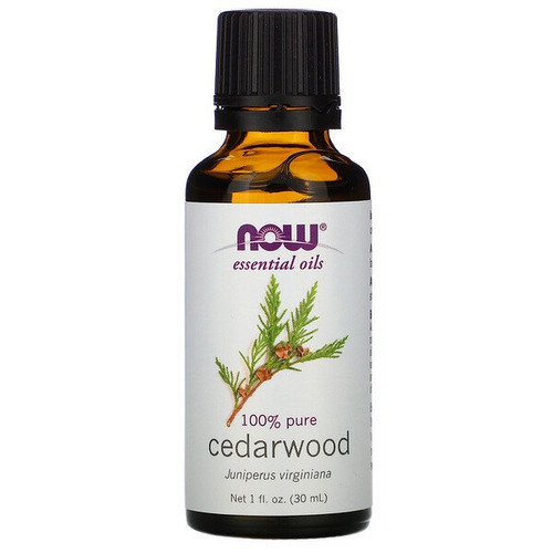 Now Essential Oils - 100% Pure Cedarwood (30 ml)