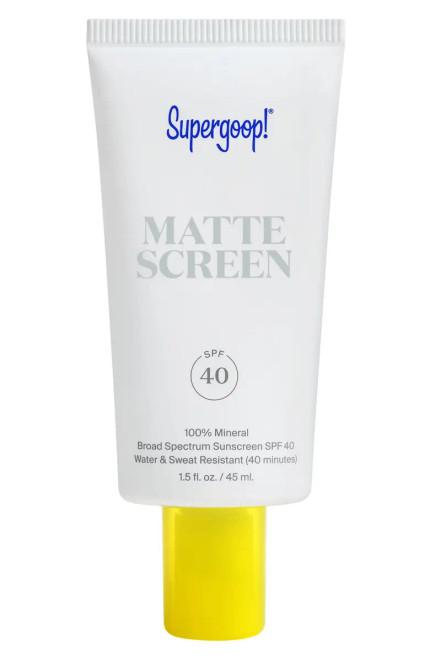 Supergoop! - Smooth & Poreless 100% Mineral Matte Screen Sunscreen SPF 40