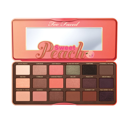 Toofaced - Sweet Peach Eye Shadow Collection (Limited Edition)