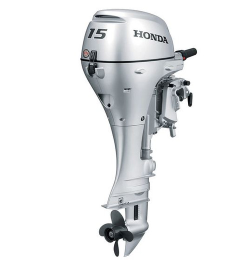 2020 HONDA 15 HP BF15D3LHS Outboard Motor