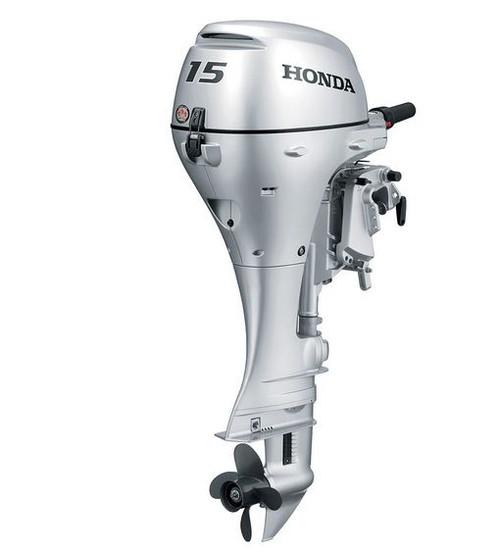 2019 HONDA 15 HP BF15D3SHT Outboard Motor