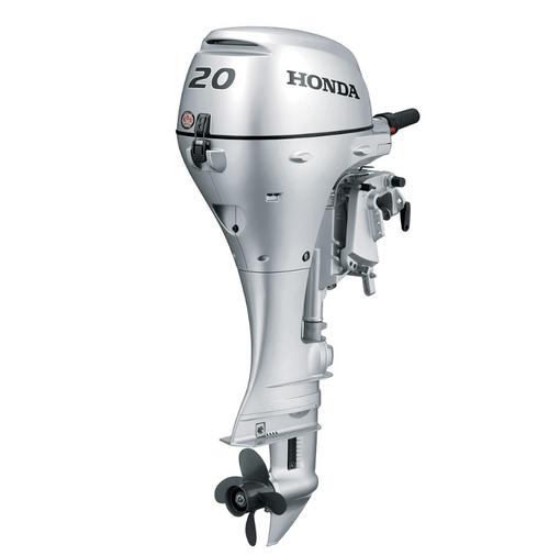 2021 Honda 20 HP BF20D3LHT Outboard Motor