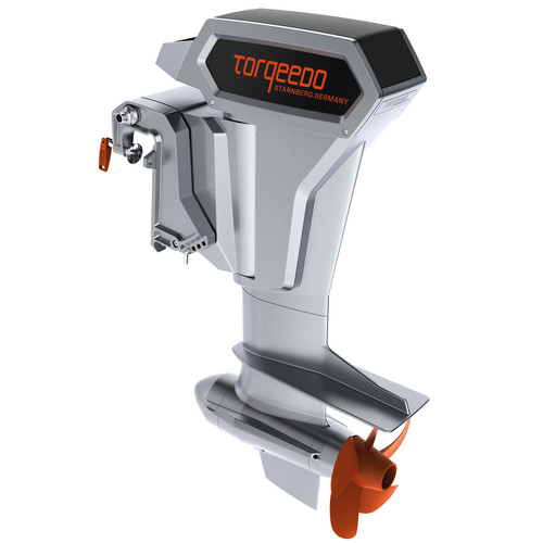 Cruise 10.0R Electric Outboard, Extra Long Shaft, Remote Steering