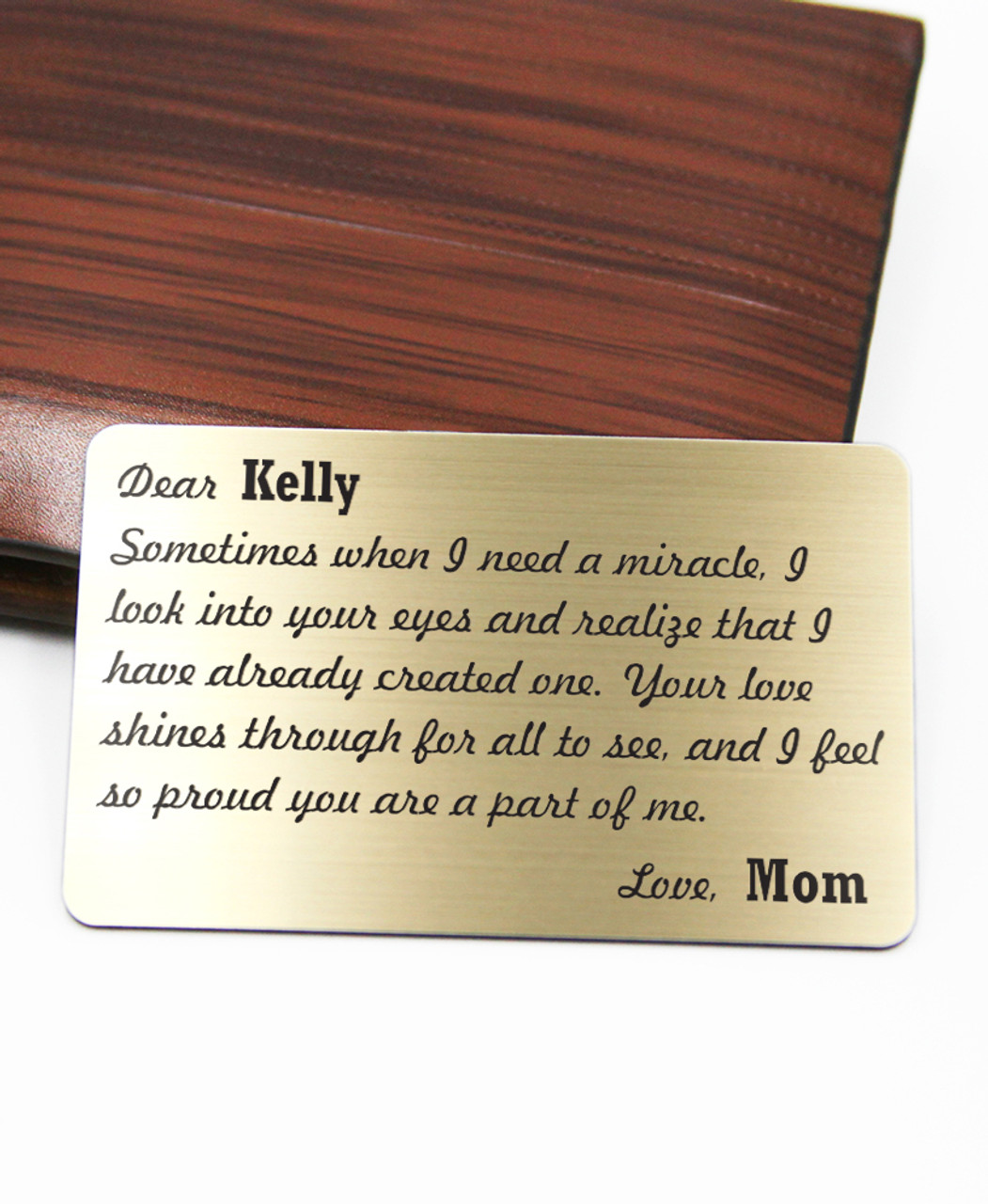 Groupon AU Personalized Wallet Card - Miracle