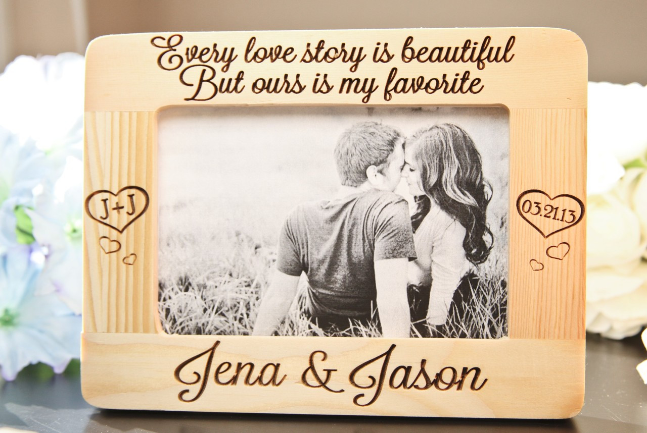 LUX - Personalized Picture Frame - Every Love Story lavanderia