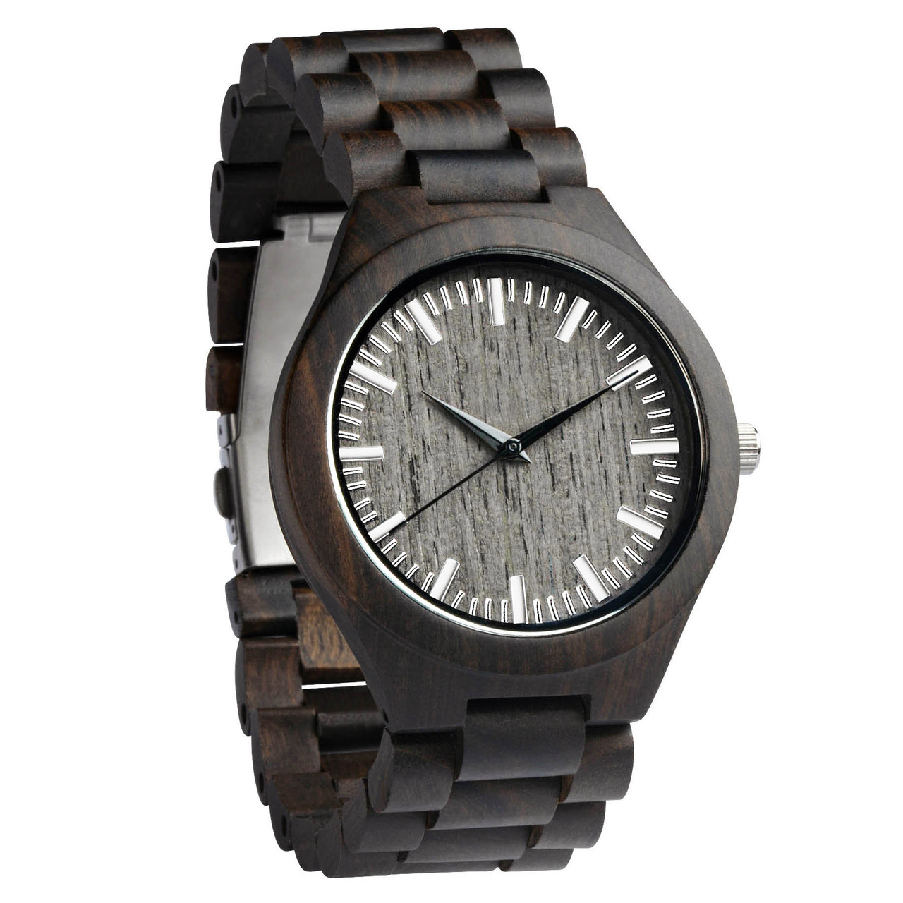 Grpn - Engraved Personalized Bamboo Watch W#72