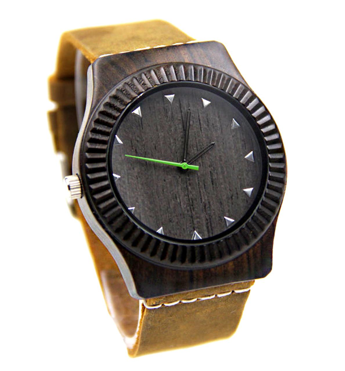 Grpn - Wood Engraved Watch W#87 - Vault