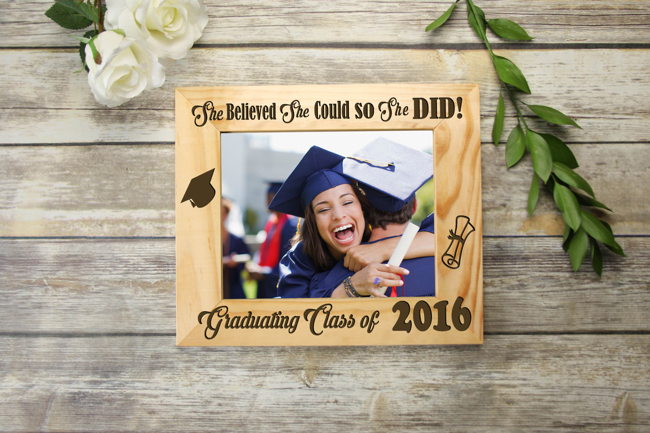 Personalized Picture Frame - Graduation