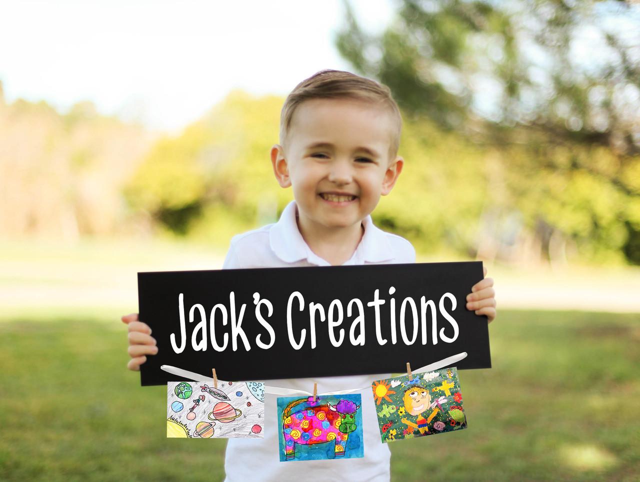 Family Sign - Kid's Art Sign
