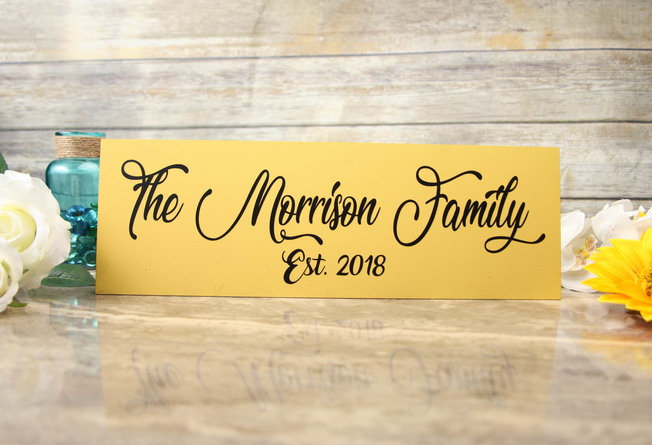 Family Sign - Stylish Family Sign