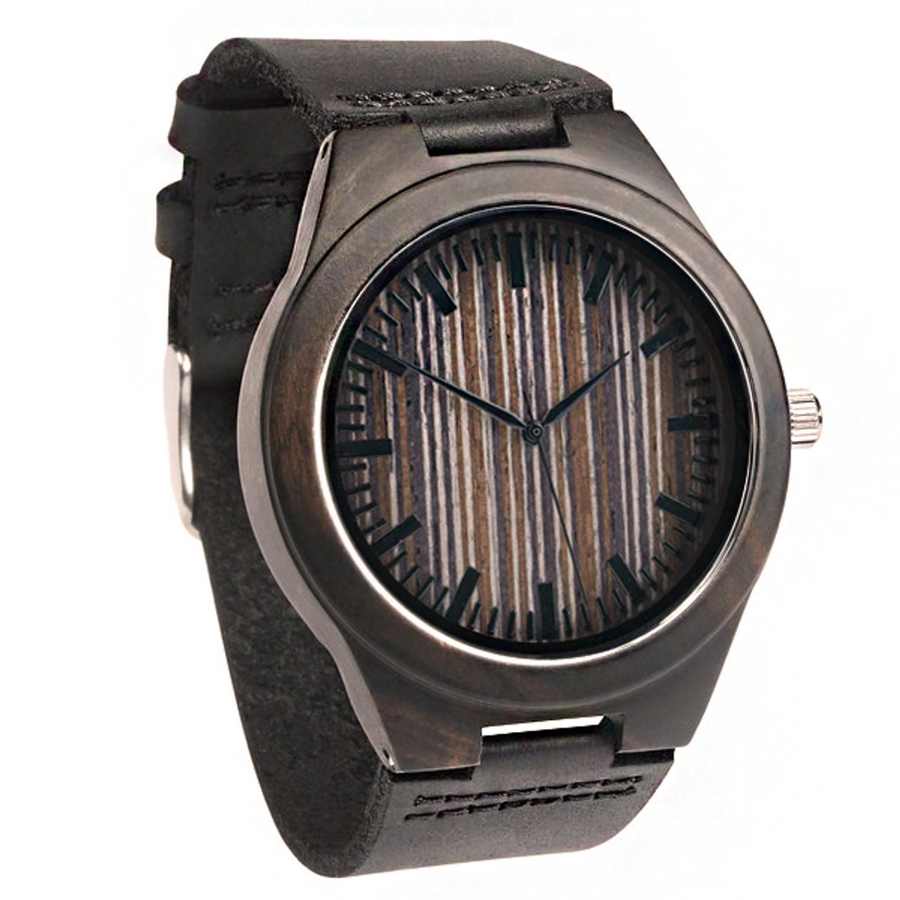 Grpn Spain - Wood Engraved Watch W#66 - Apex