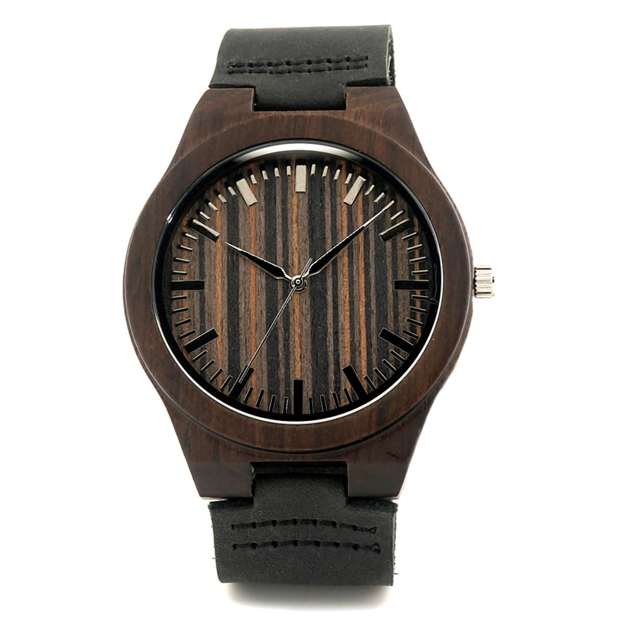 Grpn Spain - Wood Engraved Watch W#77 - Knight