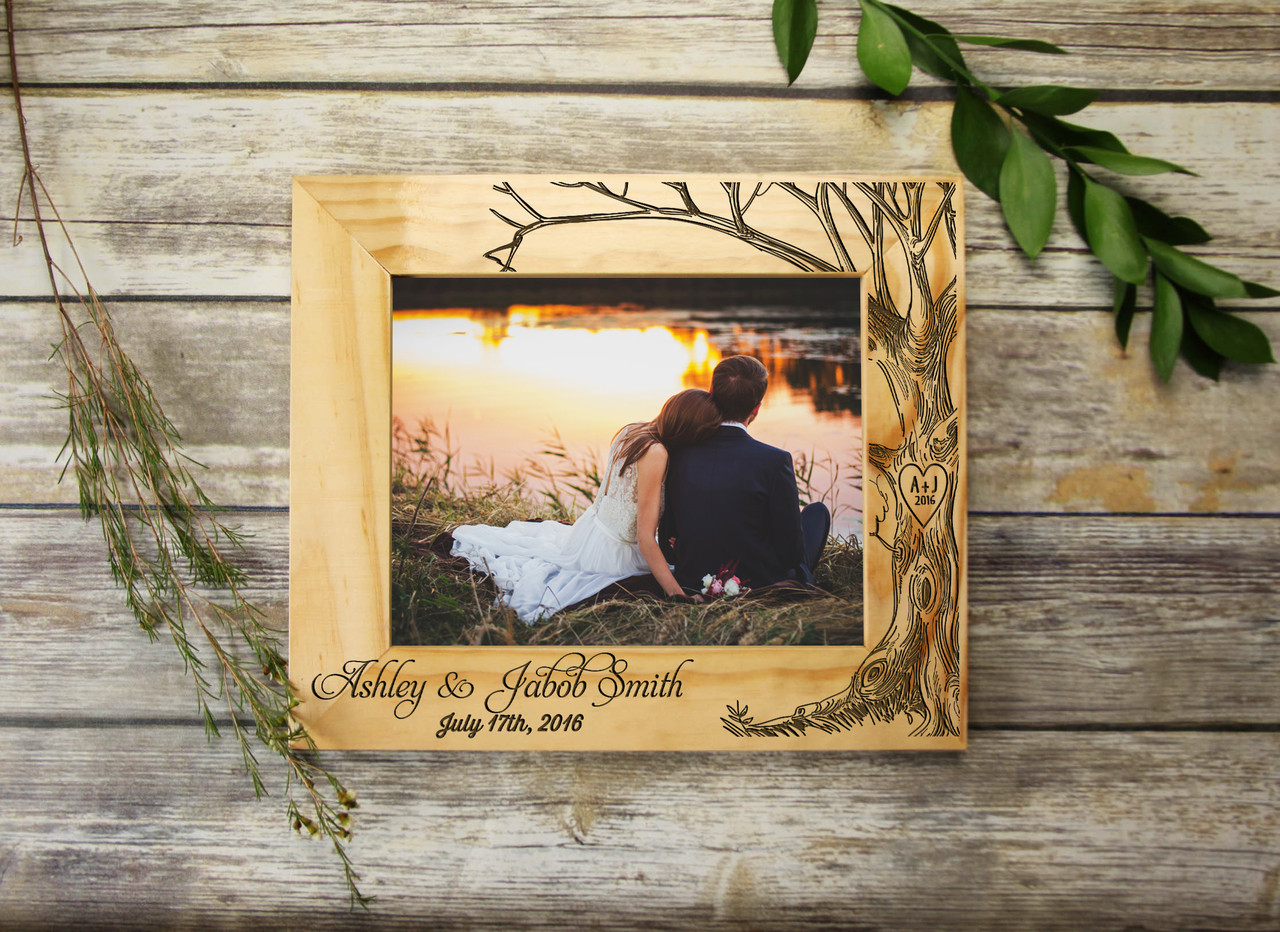 Grpn Spain - Personalized Picture Frame - Love Tree