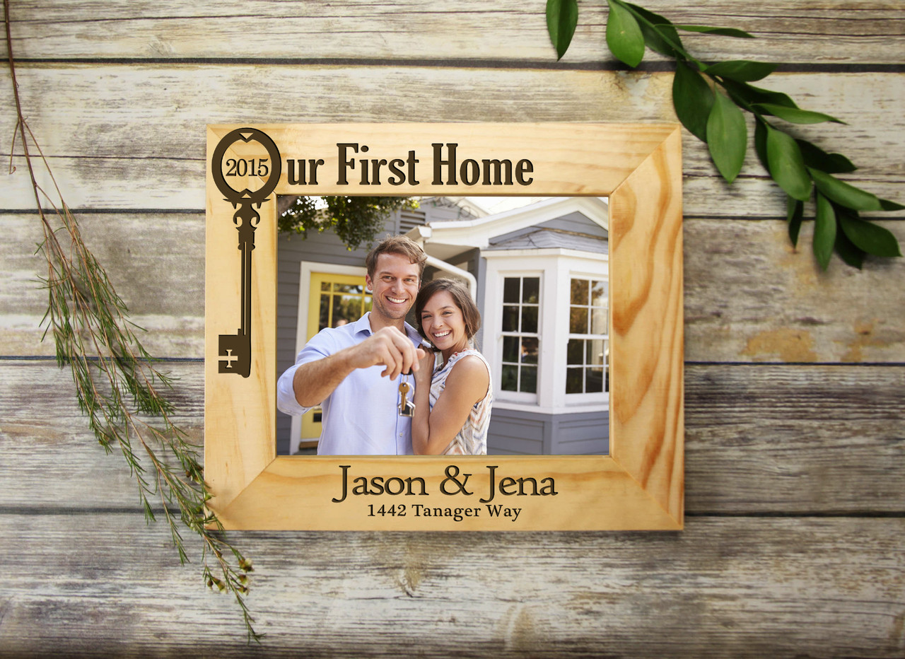 Grpn Spain - Personalized Picture Frame - Our First Home