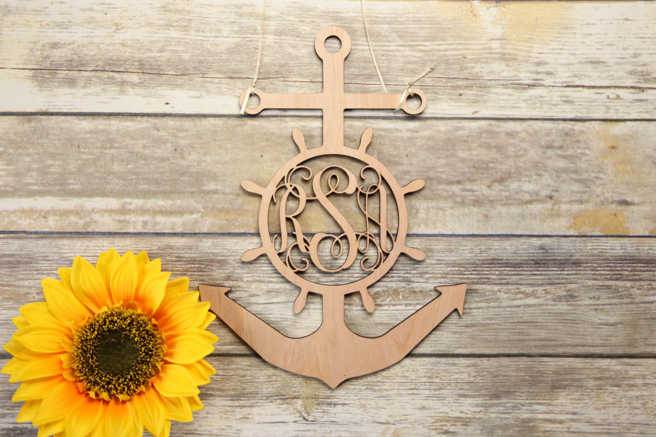 Family Sign - Anchor Personalized Sign