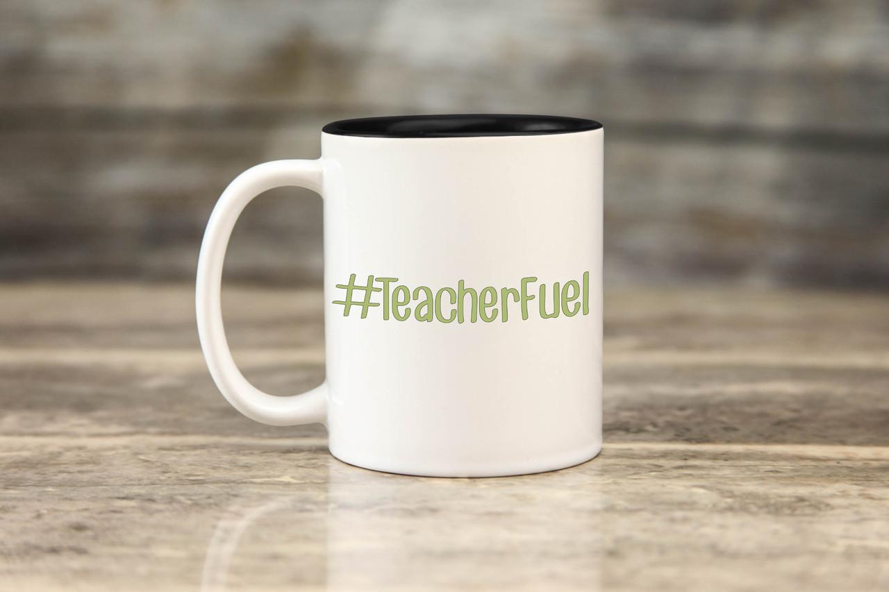 Mug - #TeacherFuel