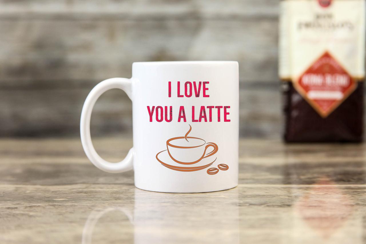 Mug - Love You a Latte