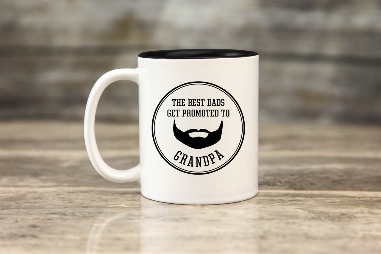 Mug - Promoted to Grandpa Beard